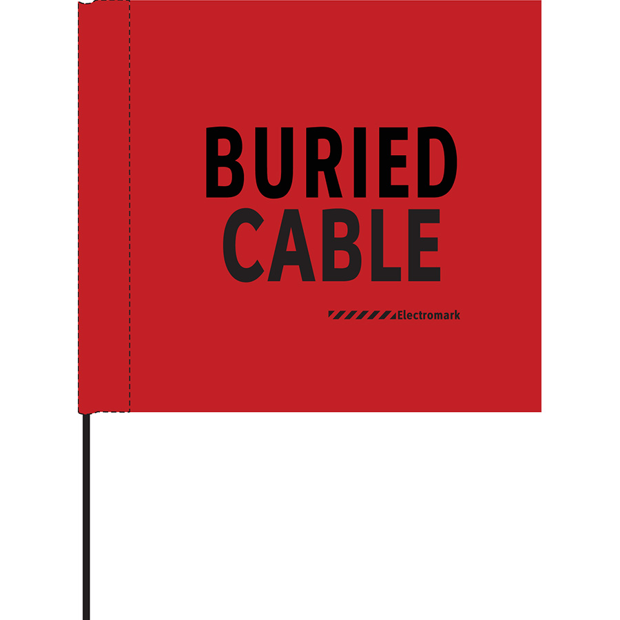 Buried Cable Flag