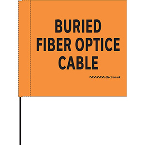 Buried Fiber Optic Cable Flag
