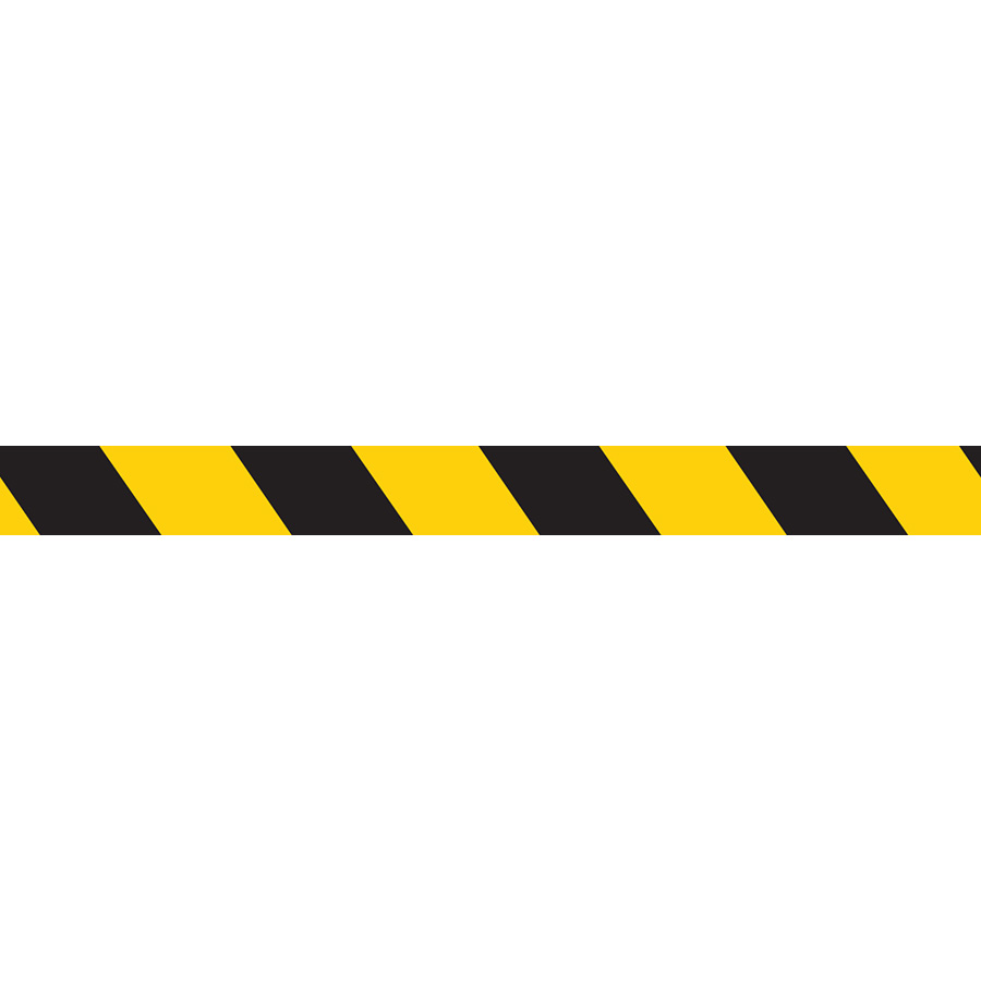Yellow/Black Demarcation Tape