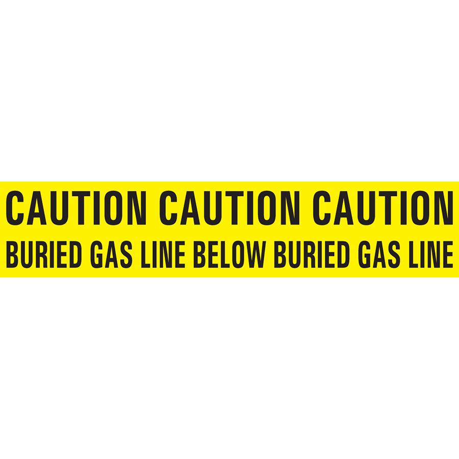 Gas Buried Line Tape