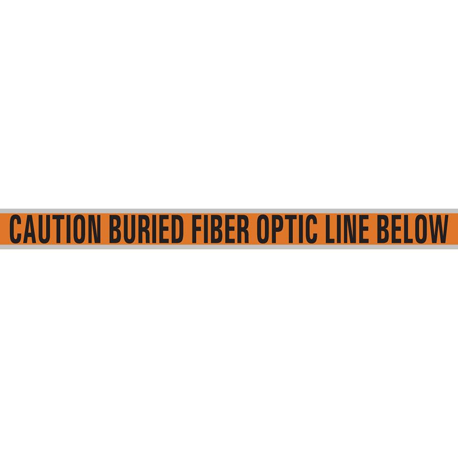 "Fiber Optic Cable Metal Detectable Tape -3"" x 1000'"