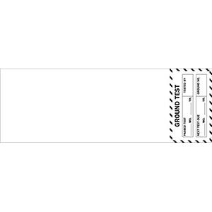 Ground Test Passed Test Label