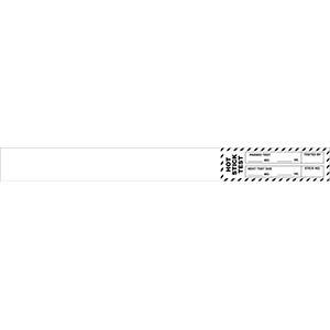 "Black Hot Stick Test Passed Test Label  - 1.25""h x 12""w"