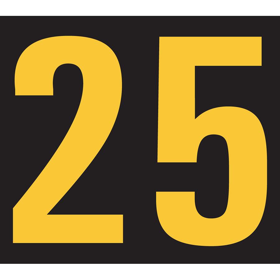 """25""Engineer Grade Relective Volt Marker - 2.88""h x 3.25""w"