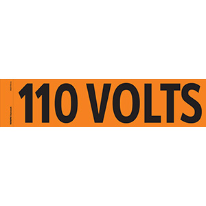"""110 Volts"" Markers"