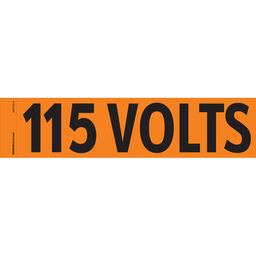 """""""115 Volts"""" Markers"""