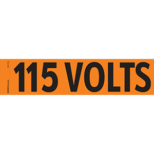 """115 Volts"" Markers"
