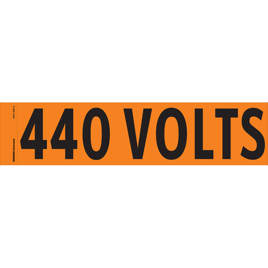 """440 Volts"" Markers"