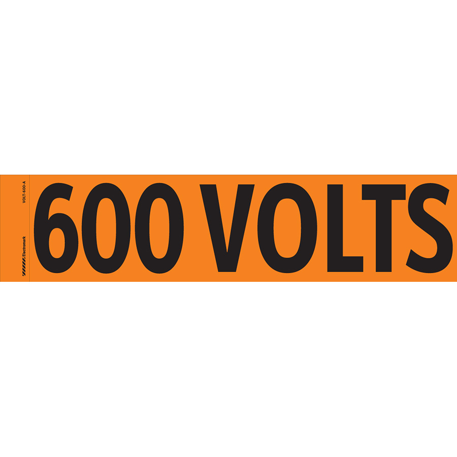 """600 Volts"" Markers"