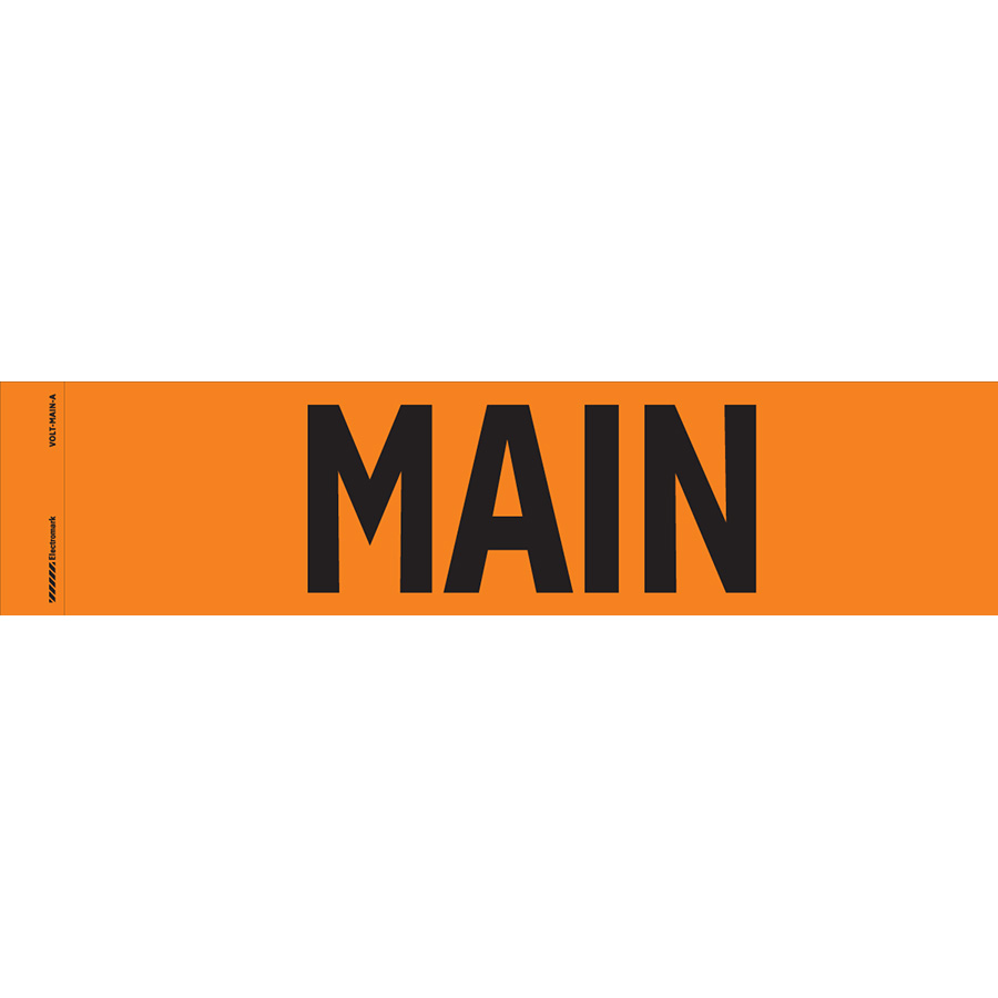 """Main"" Markers"