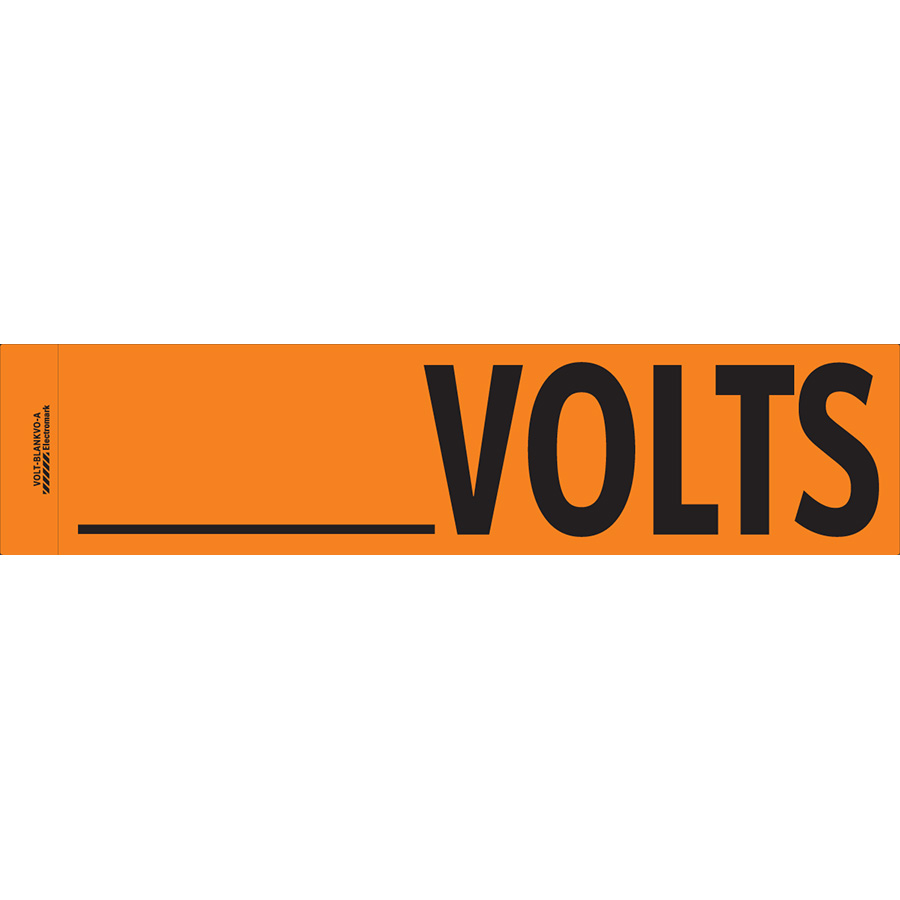 """     Volts"" Markers"