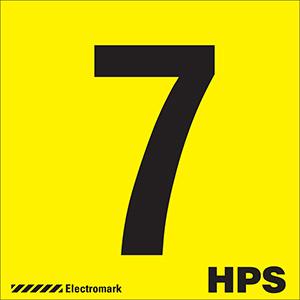 """7 HPS"" Luminaire Label"