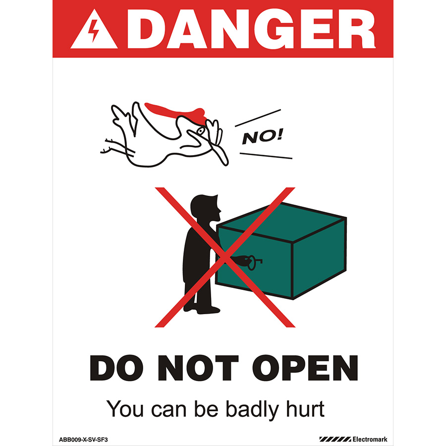 Zap Safety Bird Canadian Label