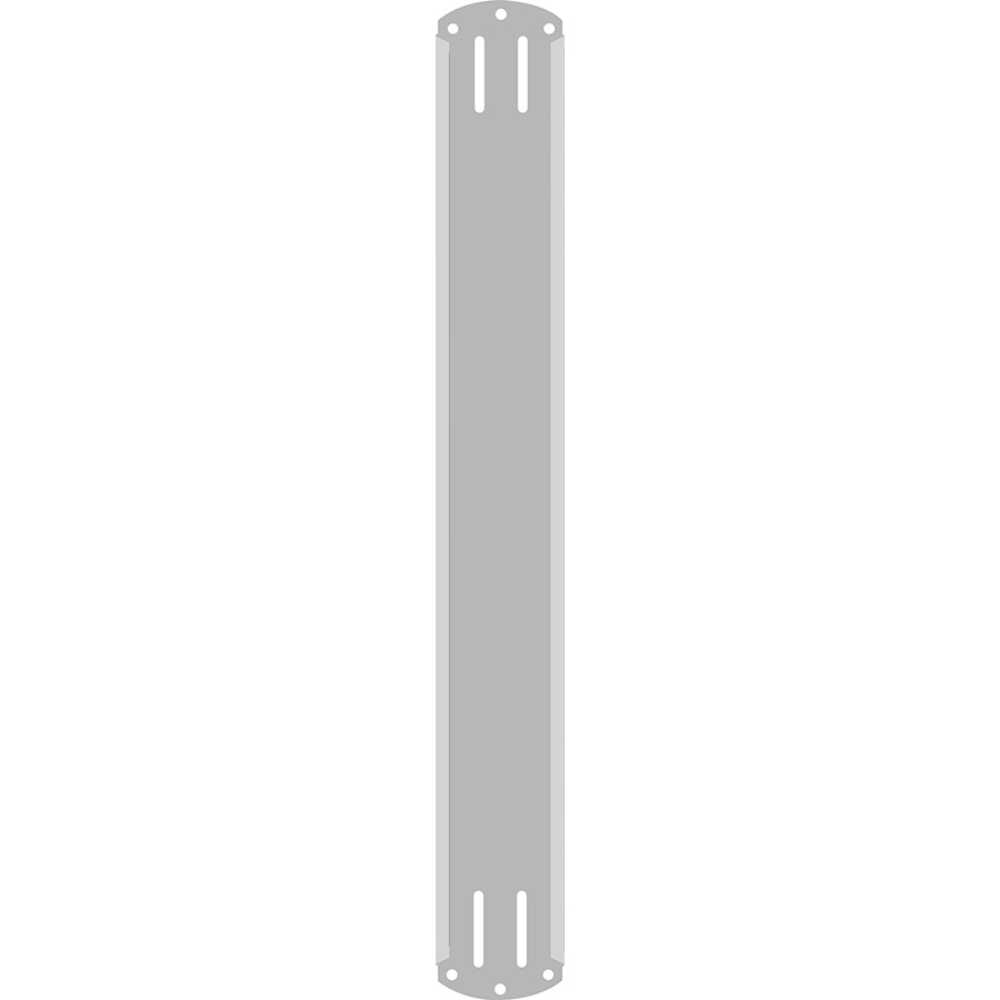 "2"" Vertical Character  Aluminum Holder - Fits 4 Characters"