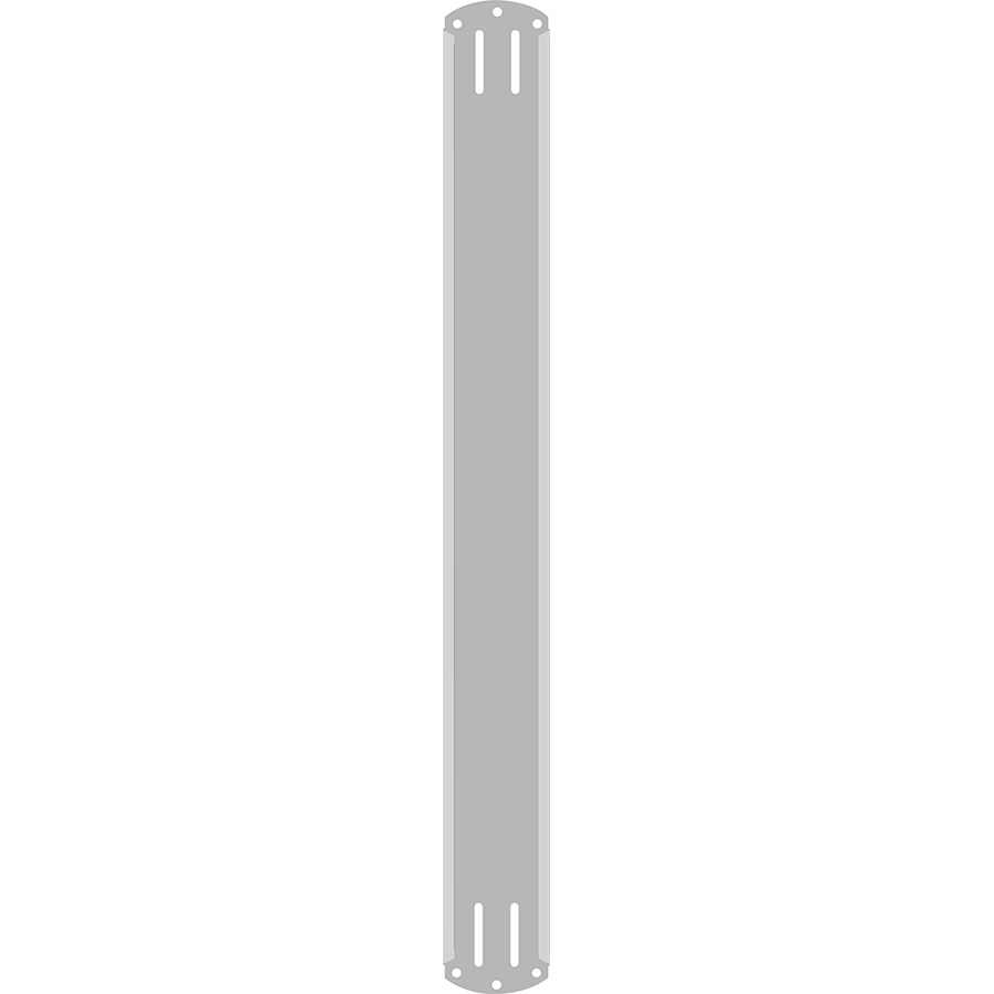 """2"""" Vertical Character  Aluminum Holder - Fits 5 Characters"""