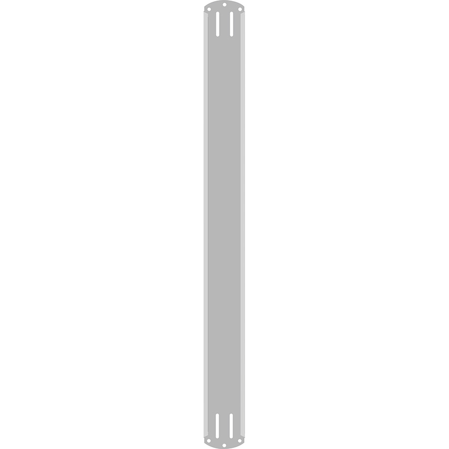 "2"" Vertical Character  Aluminum Holder - Fits 6 Characters"