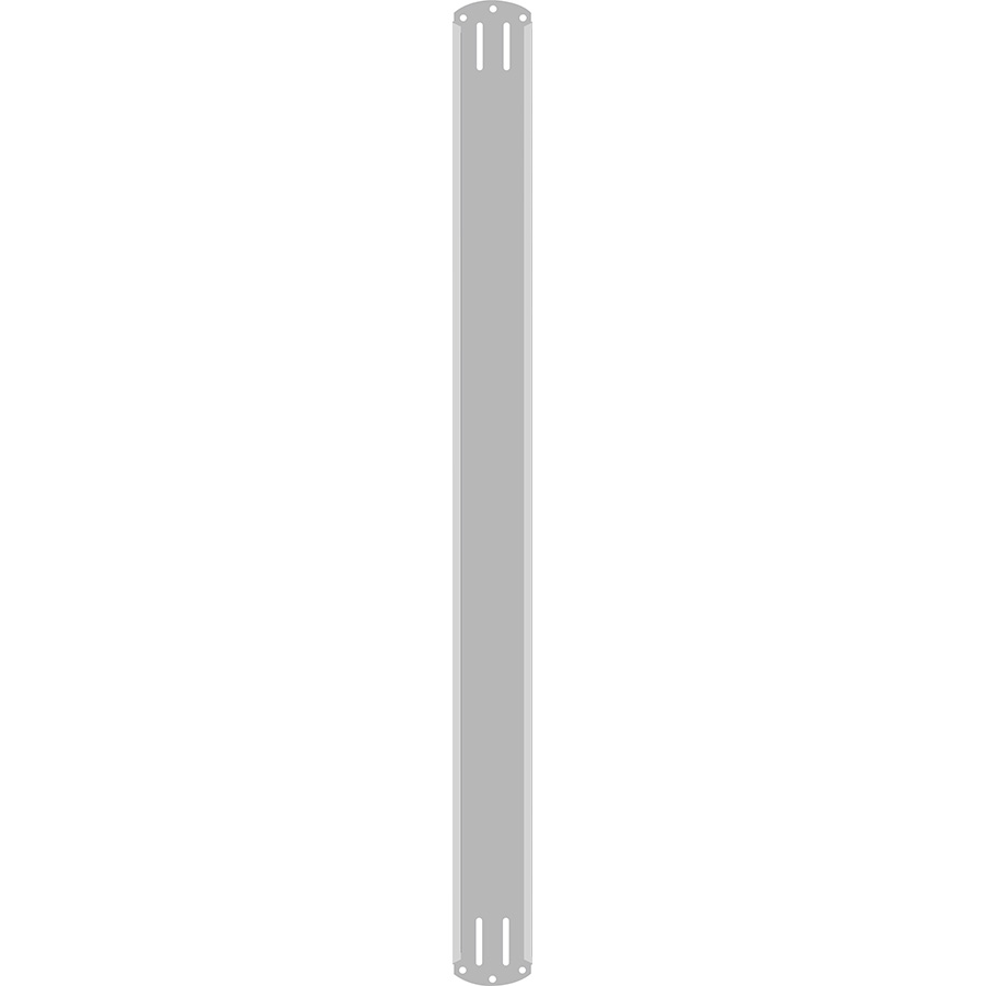 "2"" Vertical Character  Aluminum Holder - Fits 7 Characters"
