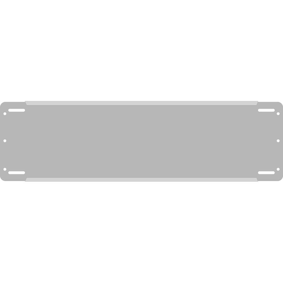 "3"" Horizontal Character  Aluminum Holder - Fits 4 Characters"