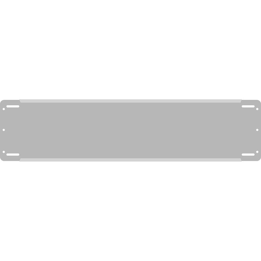 "3"" Horizontal Character  Aluminum Holder - Fits 5 Characters"