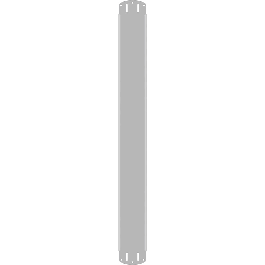 """3"""" Vertical Character  Aluminum Holder - Fits 6 Characters"""