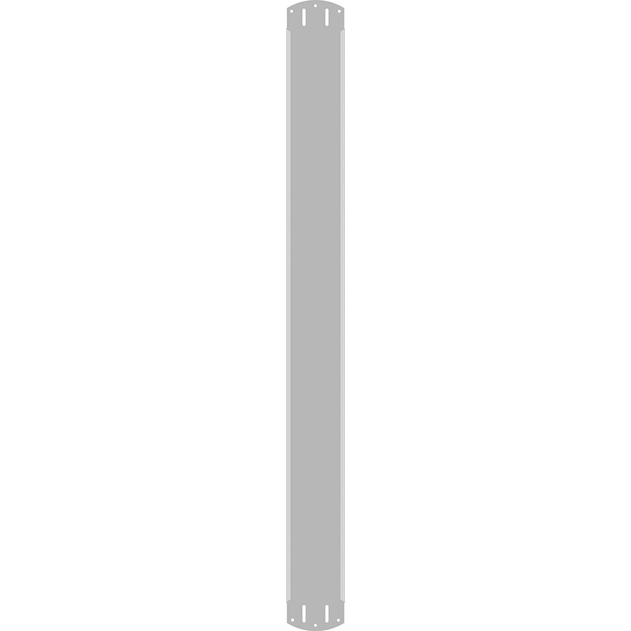 "3"" Vertical Character  Aluminum Holder - Fits 7 Characters"