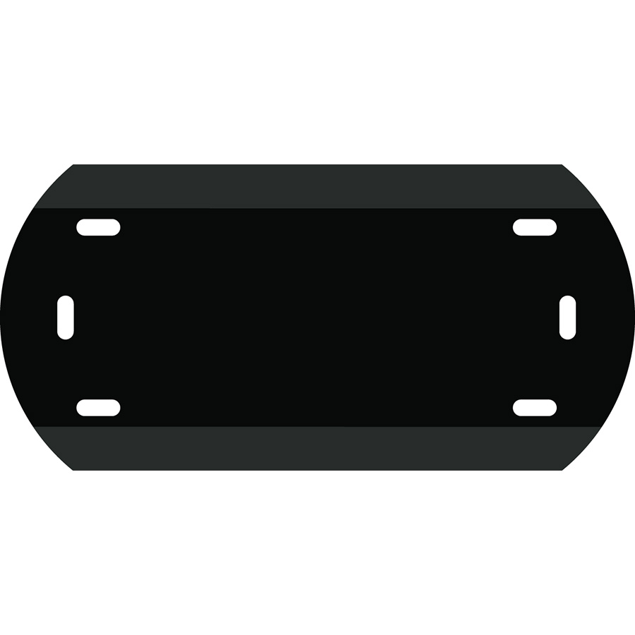 "1"" Character Polyethylene Holder - Fits 2 Characters"