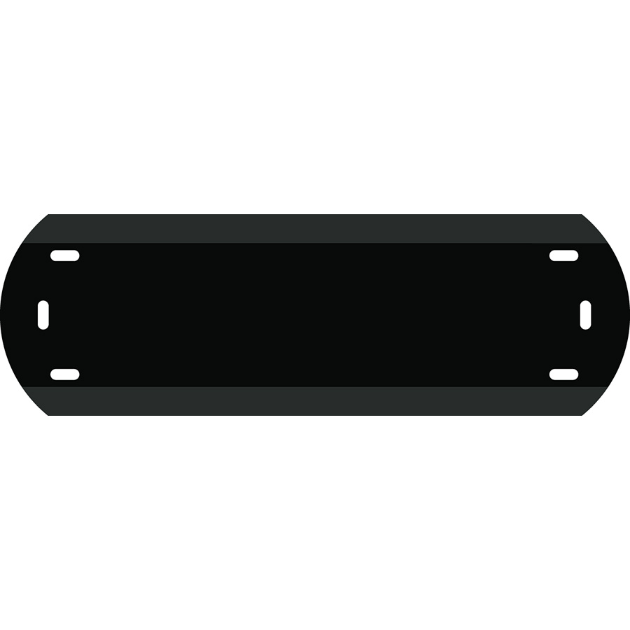 "1"" Character Polyethylene Holder - Fits 4 Characters"