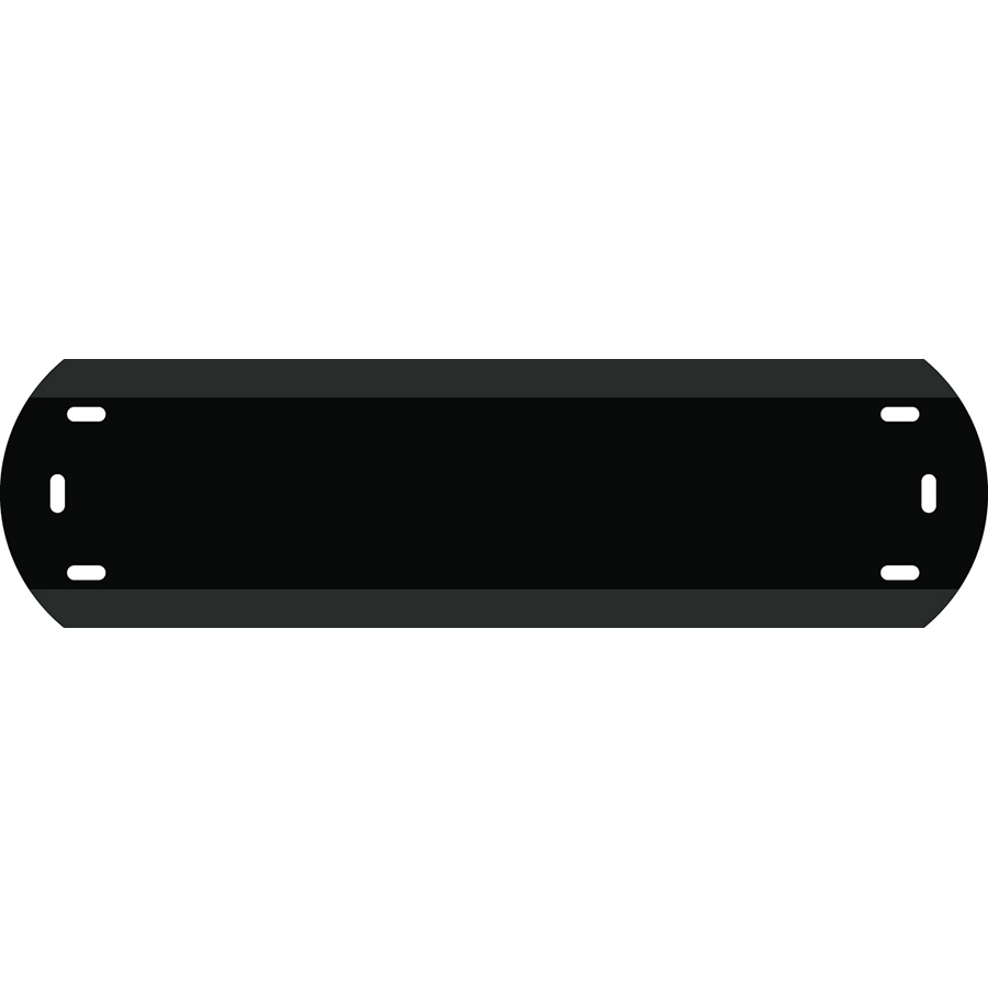 """1""""  Character Polyethylene Holder - Fits 5 Characters"""