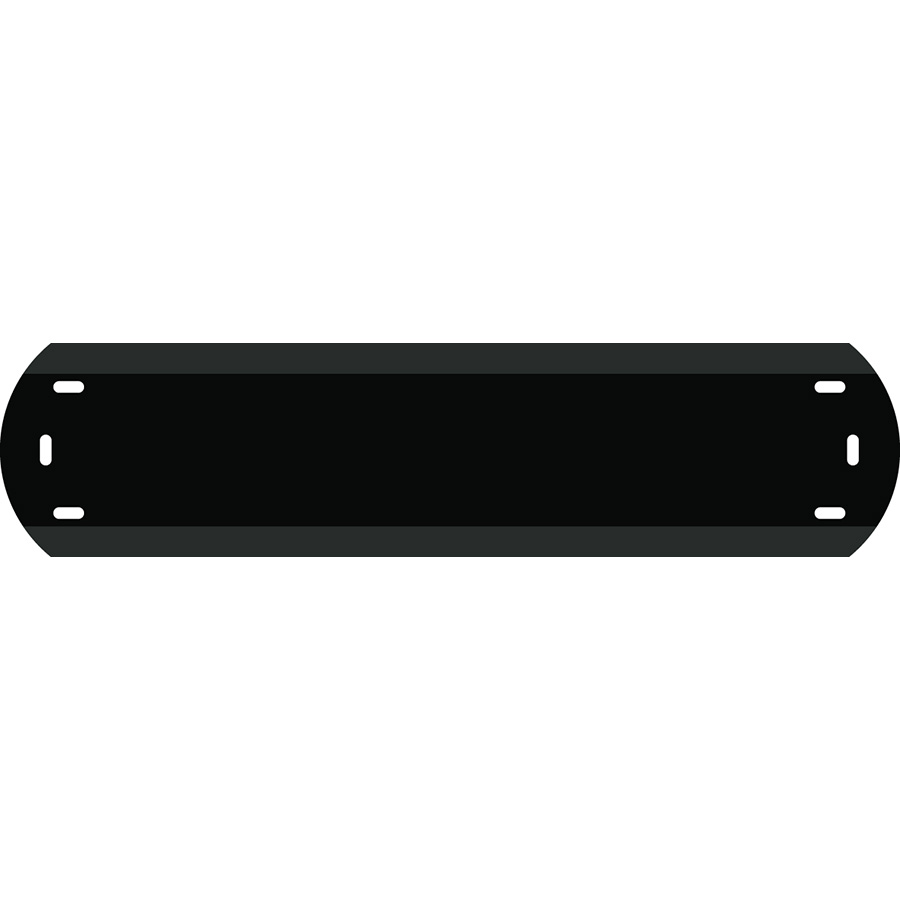 "1"" Character Polyethylene Holder - Fits 6 Characters"