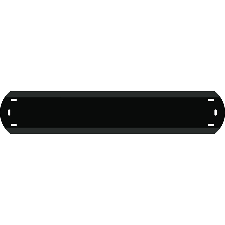 """1"""" Character Polyethylene Holder - Fits 8 Characters"""
