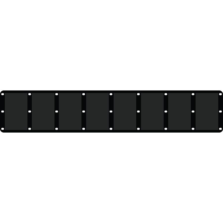 "2.5"" Horizontal Character Pocket Panel®  - Fits 8 Characters"