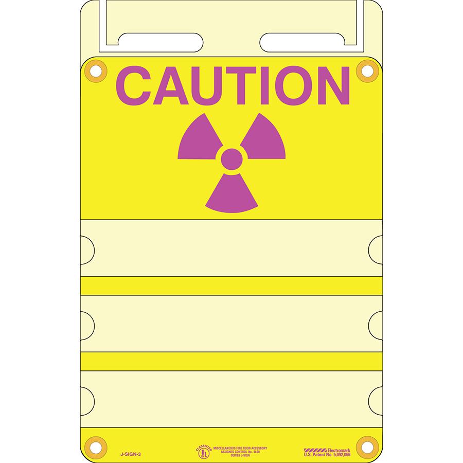 Radiation Caution J-Sign