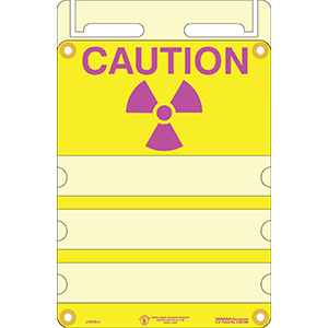 Radiation Caution J-Sign