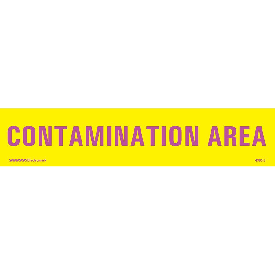 Contamination Area J-Sign Insert