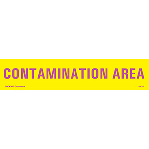 Contamination Area J-Sign Insert