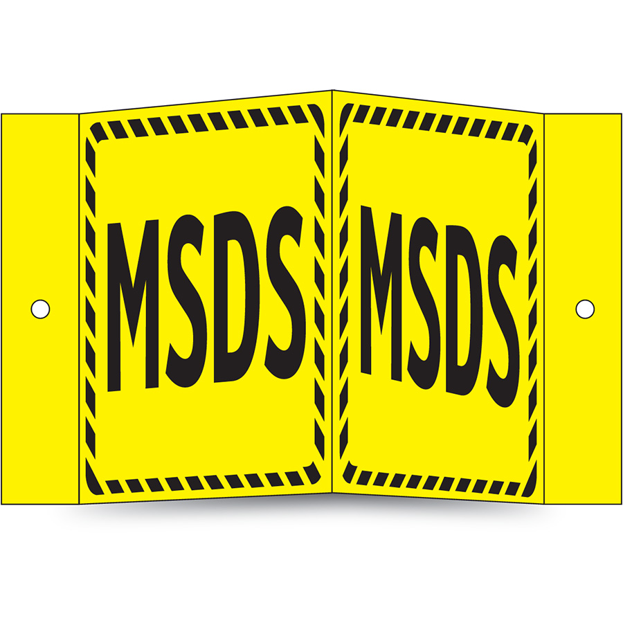 MSDS Projecting Sign
