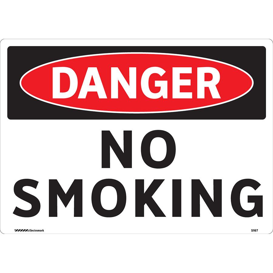 OSHA Danger No Smoking Sign