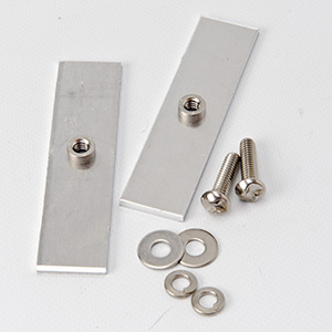 Vandal Proof Sign Fence Brackets