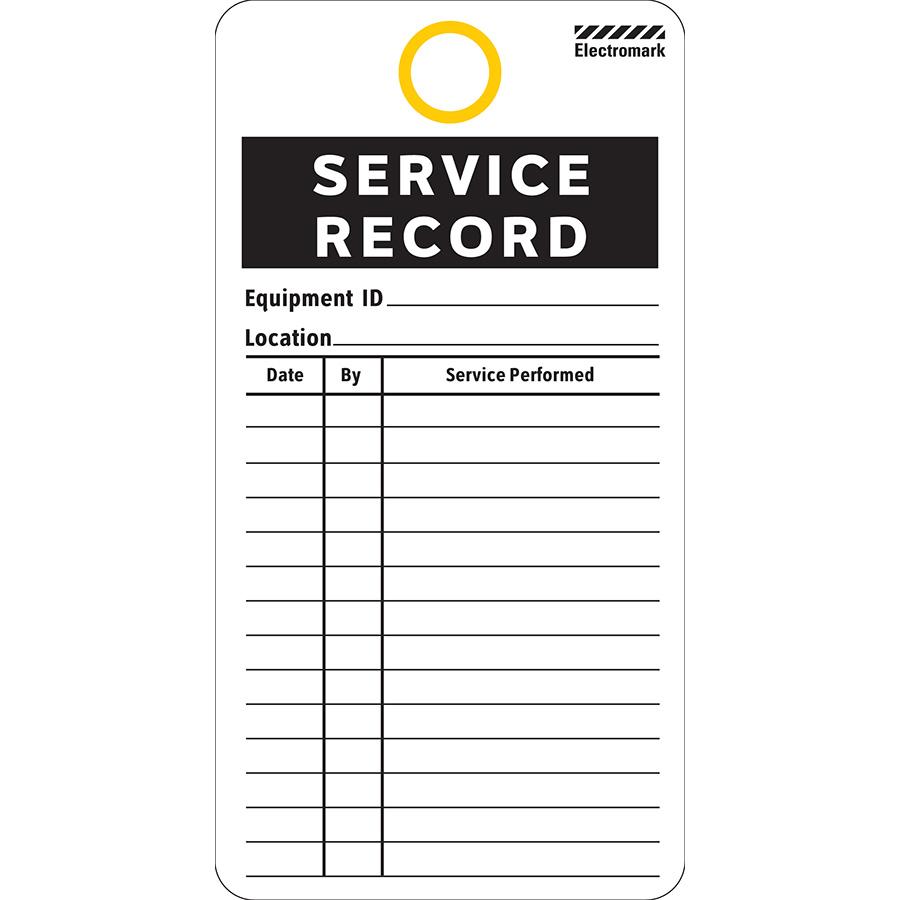 Service Record Tag