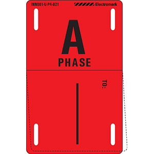 A Phase To: Write-On Phase Marker Tag