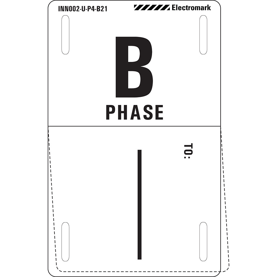 B Phase To: Write-On Phase Marker Tag
