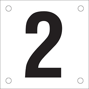 "Number ""2"" Phase Markers"