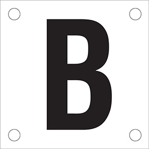 "Letter ""B"" Phase Markers"