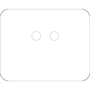 White Polyester URD Tag Kit