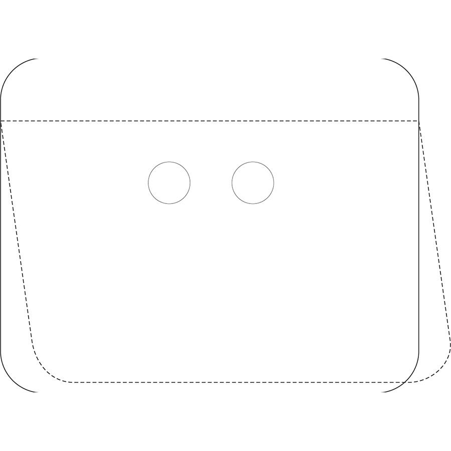 White Self-Laminating Polyester URD Tag Kit