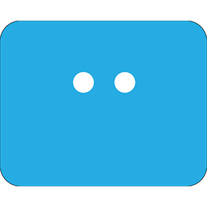 Blue Polyethylene URD Tag Kit