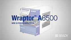 Brady Wraptor A6500