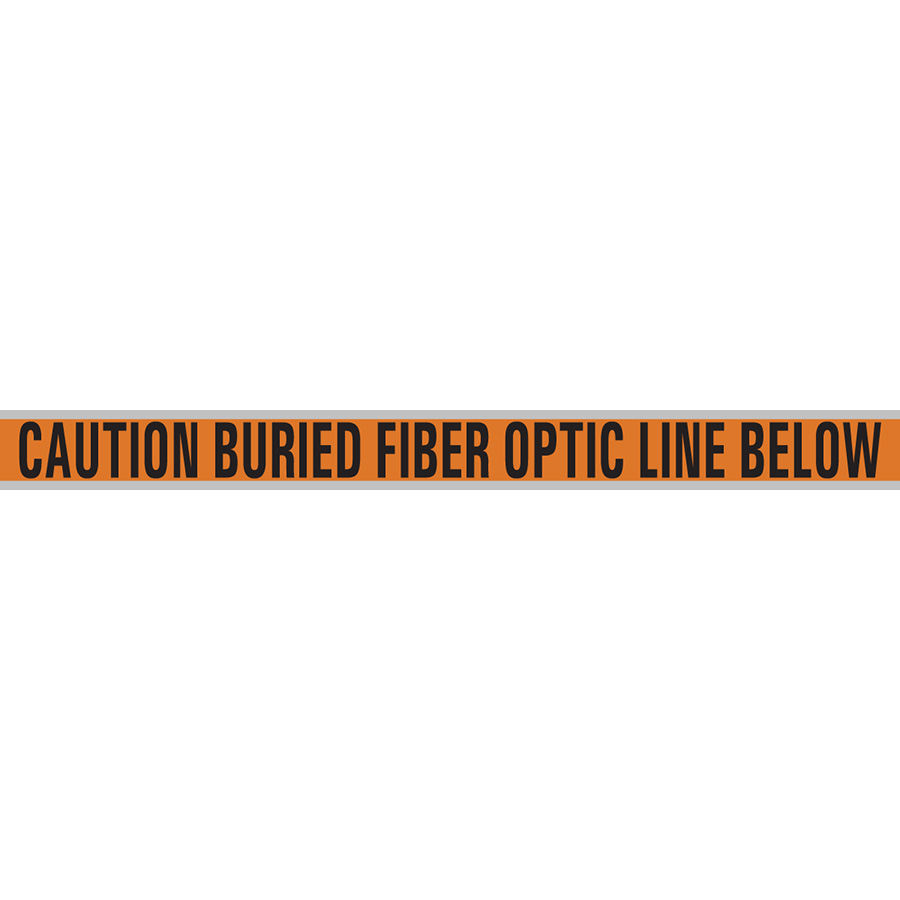 Fiber Optic Cable Buried Line Tape
