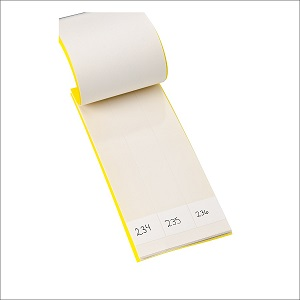 White Write and Wrap Cable Label Booklet