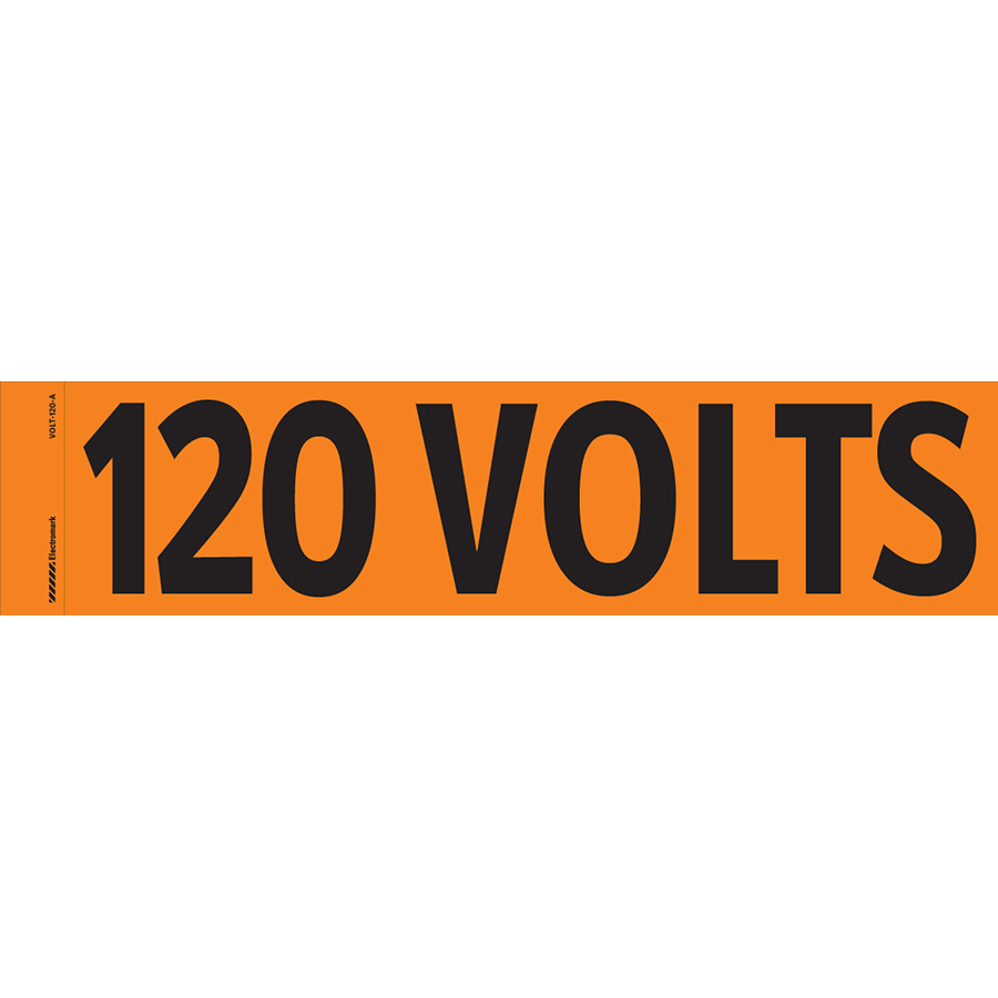 """120 Volts"" Markers"